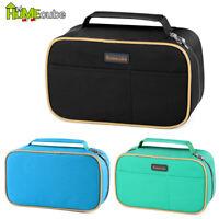 Homecube Big Capacity Pencil Case Brush Box Makeup Pouch Student Storage Pen Bag