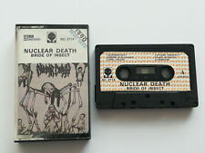 Nuclear Death - Bride Of Insect - Cassette, Made In Poland 1990