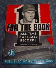 The Sporting News Baseball guide for the book Stan Musial  1949