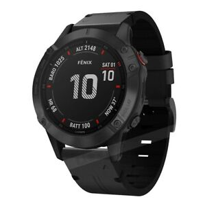 For Garmin Fenix 5X 5 Plus 6 6X 6S Pro Genuine Leather Watch Bracelet Band Strap