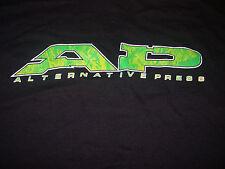 Alternative Press T Shirt Large Nice Cleveland OH Punk Rock Zine Magazine AP