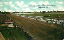 Postcard Churchill Downs Racetrack on Derby Day, Louisville, Kentucky - 1908