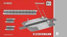 Fleischmann N 919002 Profi-Gleisset Bahnübergang - NEU + OVP