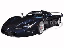 MASERATI MC12 ROAD CAR METALLIC BLUE 1/18 DIECAST MODEL CAR BY AUTOART 75802