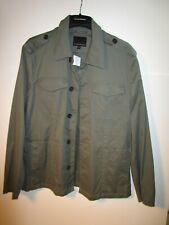 Banana Republic Mens Military Army Shirt Jacket Coat - NWT - XL