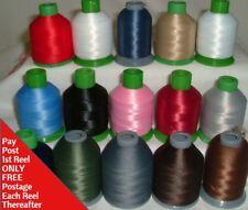 Woolly Nylon Overlocker/Serger Machine Thread 1000mtr = More on a Reel