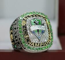 2019 Seattle Sounders FC MLS Championship Fan Ring 7-15S with black cotton bag