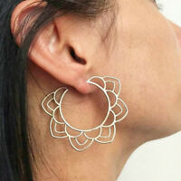 New Boho Festival Beach Holiday Gypsy Tribal Ethnic Hollow Hoop Earrings Jewelry