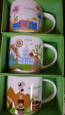 UTAH FLORIDA TENNESSEE Starbucks YOU ARE HERE mugs - NEW, ship from USA