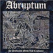 Abruptum : De Profundis Mors Vas Cousmet CD