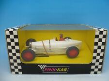 Pink Kar CV007 Bugatti Type 59 in White, Rare Blank Base, mint unused boxed