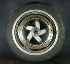 2004 04 Harley Davidson Buell Blast 500 P3 Front Wheel Rim Tire