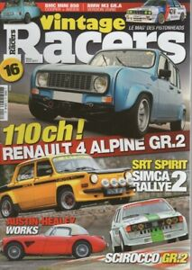 VINTAGE RACERS 16 BMW 2002 ALPINA A4S SIMCA 1000 RALLYE 2 COUPE SRT77 CAPRI MK3