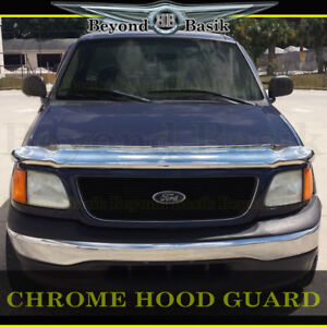 1997-1999 2000 2001 2002 2003 FORD F150, Expedition Chrome Bug Shield Deflector