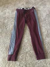 Victoria Secret PINK  Classic Jogger Sweatpants S Burgundy