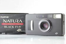 【TOP MINT+++】 Fujifilm Fuji Natura Black F1.9 Point Shoot Film Camera JAPAN