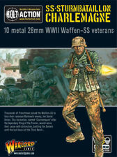 Alemán Waffen SS-sturmbatallion Charlemagne Perno acción Warlord Games 28mm Sd