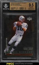 1998 Black Diamond Double Peyton Manning ROOKIE RC /2500 #91 BGS 9.5 GEM MINT