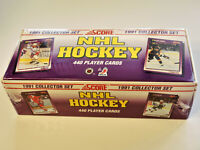 1991 NHL SCORE COLLECTOR SET HOCKEY CARDS - 1 SEALED BOX (440 CARDS) --- [209]