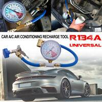 Kit mesure recharge réfrigérant climatisation voiture Jauge gaz de tuyau R134A