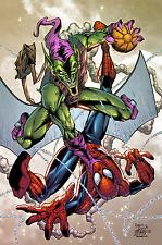 Dan Prado- PradoInkworks Signed Spidey vs Green Goblin Full Colored Print