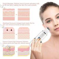 USB  Ultrasonic Scrubber Skin Spatula Facial Cleaner Peeling Massage Sonic Vibra