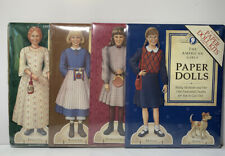 The American Girls Paper Dolls 4 Complete Paper Doll Kits New Unopened Vintage