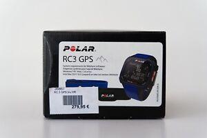 Polar RC3 GPS blau HR Herzfrequenzsensor+Gurt als Ersatzteile verwendbar