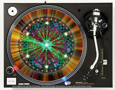 RADIANT MANDELA - DJ SLIPMAT 1200's or any turntable, record player