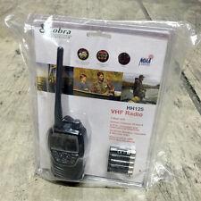 Cobra MR HH125 Marine Handheld VHF / NOAA Radio Compact Waterproof Rechargeable