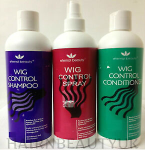 Eternal Beauty Wig Control Spray, Shampoo & Conditioner 400ml