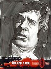 Hammer Horror Series 1 Sketch Card drawn by Chris Henderson /3