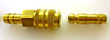 Quick release coupler for LPG 8mm bore hose, Camping, BBQ etc        PO685