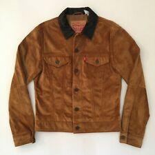 Levi's Genuine Suede Trucker Jacket - Small