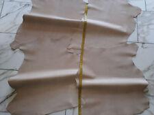 LEDER TIP 29708-F, Lederreste, 4-Lederhäute-Konvolut, hautfarben nappa
