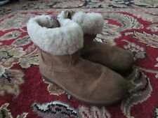 Toddler UGG Australia Jorie II Chestnut Suede 100% Authentic Used