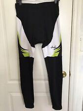 CHEJI Men's Thermal Winter Cycling Jersey Pants Set Fleece Cycling Long Kit
