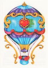 Temporary Tattoo, Einmal Tattoo  Bullseye SGRT13-06, glitzer Heißluftballon