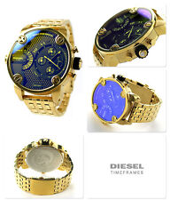 "DlESEL DZ7347 LITTLE DADDY DUAL ZONE CHRONOGRAPH WATCH  "" MASSIVE REDUCTION"""