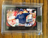 2017 TOPPS ARCHIVES SIGNATURE SERIES Wade Davis 40/57 - Rays