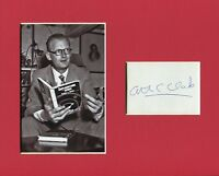 Arthur C Clarke 2001 Space Odyssey Author Signed Autograph Photo Display