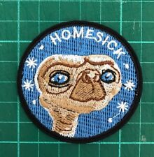 E.T. love friend HOMESICK Vintage 1982 Et Embroidered fabric Applique Patch