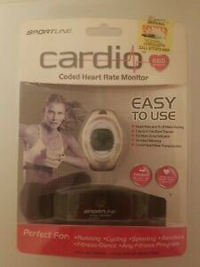 Sportline Cardio 660 Womens Coded Heart Rate Monitor New
