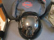 Harley Davidson Half Helmet Hybrid Spoiler XXL with Carry Bag