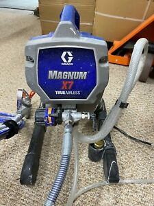 Graco X 7 Airless Paint Sprayer Used 1 time to paint a basement