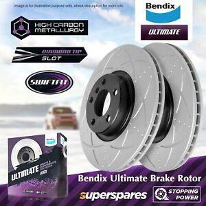 Bendix Front Disc Brake Rotors for BMW X6 Series E71 E72 X5 Series E70 F15 F85