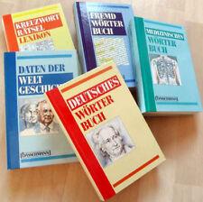 Wörterbücher: Kreuzworträtsel Weltgeschichte Fremdwörter, Medizin, Dt.Wörterbuch