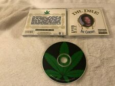 DR DRE THE CHRONIC EARLY ORIGINAL DEATH ROW RECORDS CD OOP OLD SCHOOL RAP
