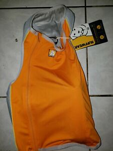 Ruffwear Jet Stream Dog Vest Cooling Jacket M Orange New w Tags 27-32 in.