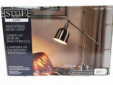 Style Craft  - Industrial Desk Lamp